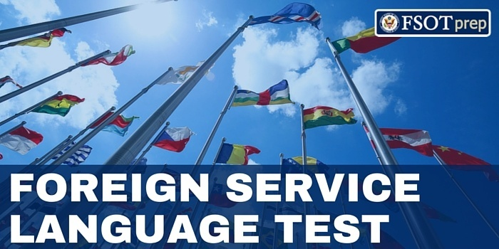 FOREIGN SERVICE LANGUAGE TEST