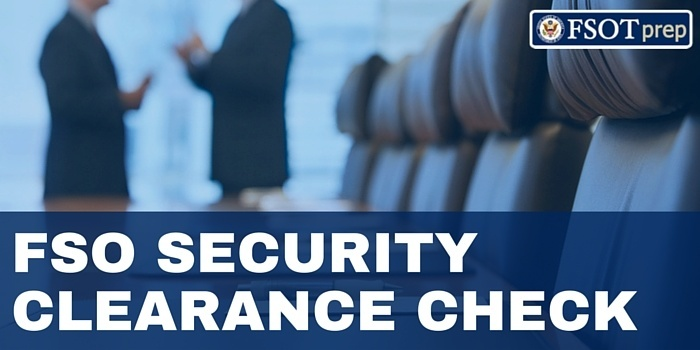 FSO security clearance checks