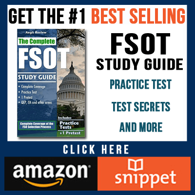 How to Ace the Foreign Service Officer Test